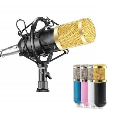 BM800 Condenser Studio Broadcasting Singing Microphone Podcast Recording Mic Kit