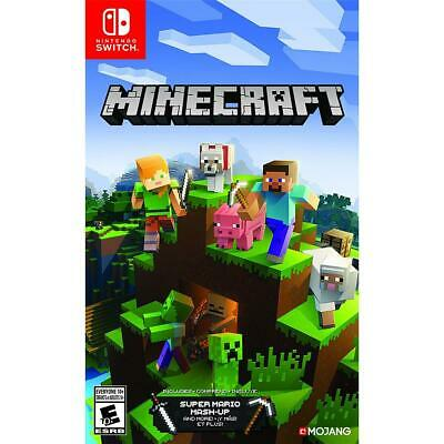 Nintendo Minecraft for Nintendo Switch #HACPAEUCA