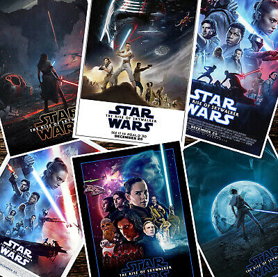 STAR WARS The Rise of Skywalker MOVIE POSTERS - A4 A3 A2 - Quality Prints