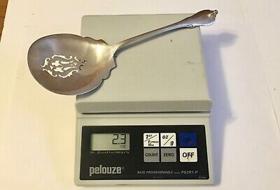 Vintage Wallace Grand Colonial Sterling Silver Spoon (2.3 Oz.-66 Gms.) Beauty!
