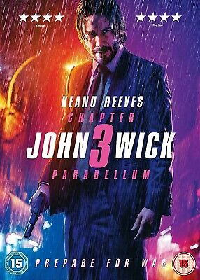 John Wick: Chapter 3 - Parabellum   2019 DVD SEALED