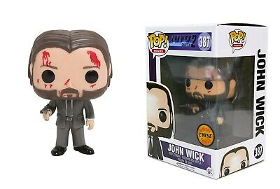 Funko Pop Movies: John Wick Chapter 2 - John Wick 12535 CHASE LIMITED EDITION