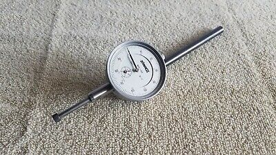"Phase II 900-102 Dial Indicator .001"" 2-1/4"" Face 0-1"" Missing Plastic Cover C9"