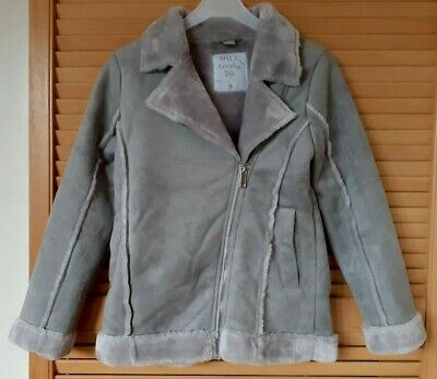 Girls TU Soft Warm Jacket, Cosy Lining, Age 9 years - New, Never Worn
