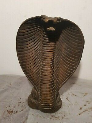 Rare Antique Ancient Egyptian Statu God Wadjet Cobra Snack Protection1860-1780BC