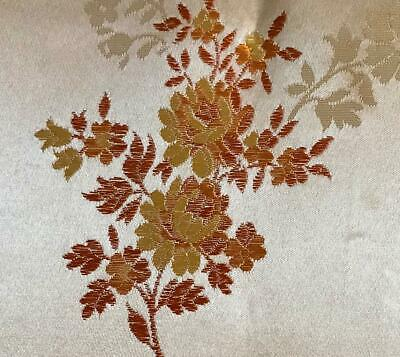 BEAUTIFUL LATE 19th CENTURY FRENCH SILKY BROCADE, PROJECTS REF 492