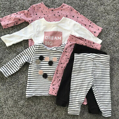 Baby Girls Next Set Outfit 3-6 Months