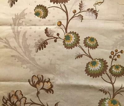 BEAUTIFUL LATE 19th CENTURY FRENCH SILKY BROCADE, PROJECTS REF 491