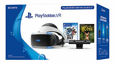 Sony PlayStation VR Astro Bot Rescue Mission + Moss Bundle PS4 Virtual Reality