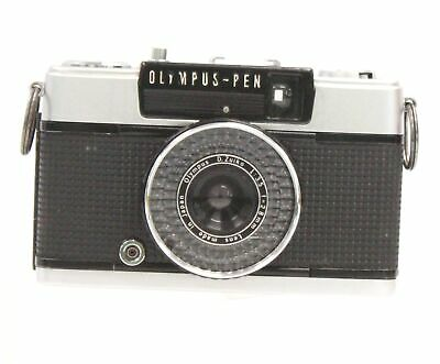 OLYMPUS-PEN EE-2 35mm Camera With Olympus 28mm f/3.5 Lens  - D21
