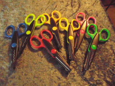 Craft Scissors Everyone a Different Colour & a Different Cut Seven Pairs, Gift