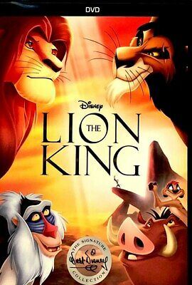The Lion King (DVD, 2017 Signature Collection) New w/ Slipcover FREE Shipping