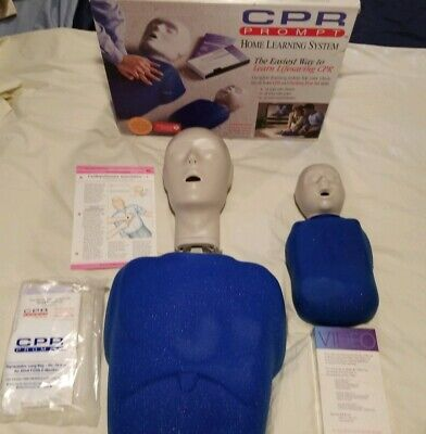 CPR And Choking Prompt Home Learning System Adult Child Infant Manikins HLS100