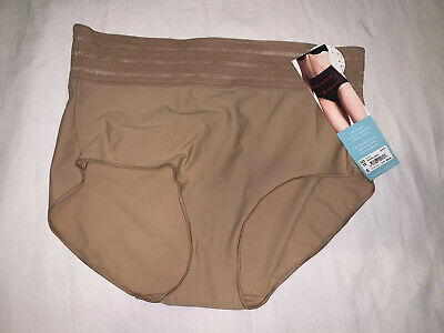 NWT Assets Spanx womens beige shaping panty size 1X