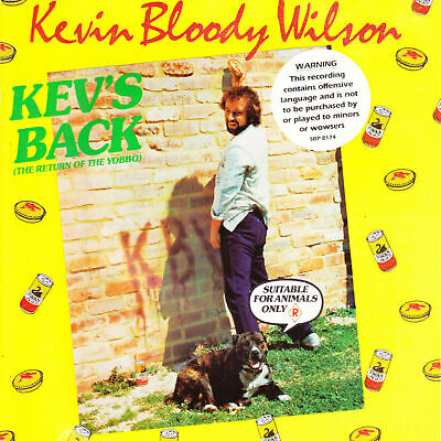 Kevin Bloody Wilson - Kev's Back The Return Of The Yobbo Cd (1987)
