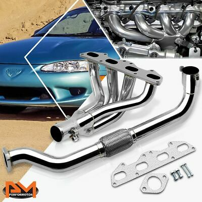SS Exhaust Header Manifold for 95-99 Mit Eclipse//Talon 2G 420A 2.0 Non-Turbo NA