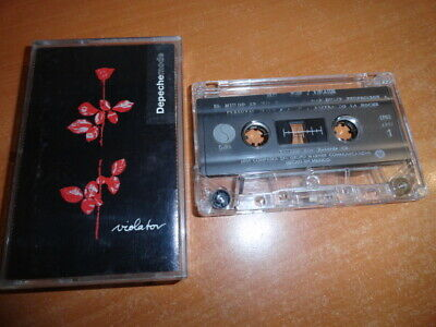 Depeche Mode Violator Mega Rare Mexican Press Cassette Album