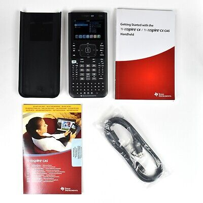 Texas Instruments TI-Nspire CX CAS Graphing Calculator+ Software + Cable