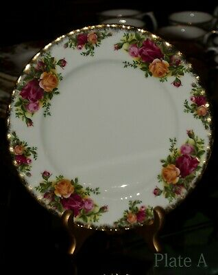 "Royal Albert Old Country Roses 8 1/8"" Salad or Dessert Plate(s) England You Pick"