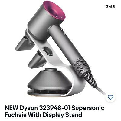 NEW Dyson 323948-01 Supersonic Fuchsia With Display Stand