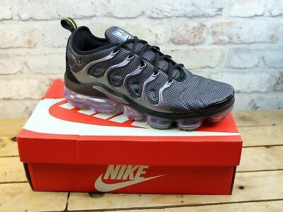 Mens Nike Air Vapormax Plus Black Fitness Sports Gym Trainers Uk Size 9 Rrp £170