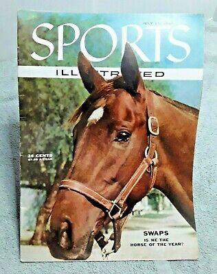 1955 Horses and Horse Racing SPORTS ILLUSTRATED January 10