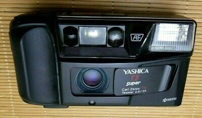Yashica T3 super mit Zeiss Tessar T* 2,8/35mm Nr299680