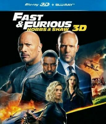 Fast & Furious Presents: Hobbs & Shaw [3D Bluray Disk]