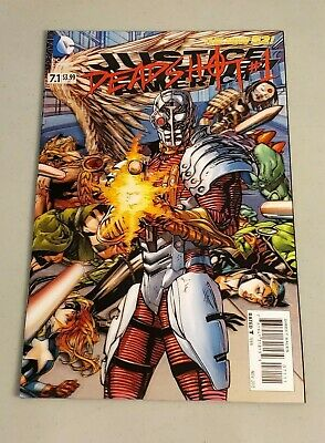 JUSTICE LEAGUE AMERICA #7.2 KILLER FROST #1 3D LENTICULAR COVER NM 2013 NEW 52