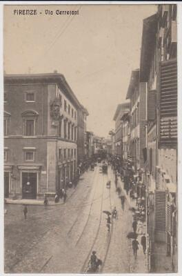 Firenze Via Cerretani 1912 Bella !