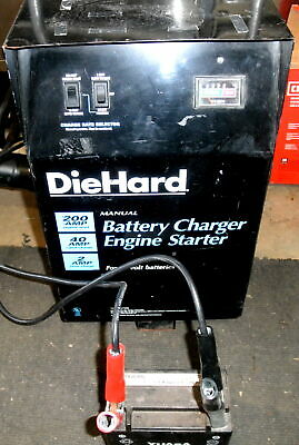 200 Amp Engine Starter Battery Charger Jumper Die Hard 200.71230 Schumacher