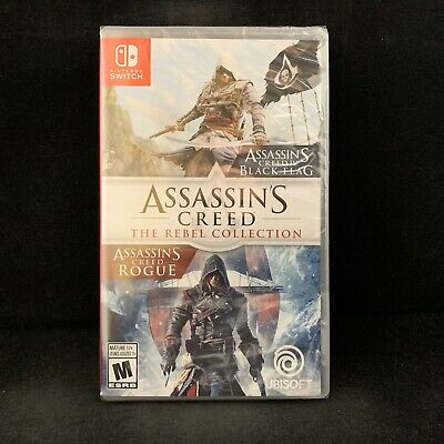 Assassin's Creed The Rebel Collection (Rogue / Black Flag) (Nintendo Switch) NEW
