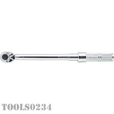 "Proto® J6008C 1/2"" Drive Ratcheting Head Micrometer Torque Wrench - 16-80 Ft-Lbs"