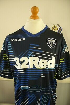 XL LEEDS UNITED OFFICIAL KAPPA 2018 - 2019 AWAY SHIRT~WAS £50.00 *BNWT 2nd*