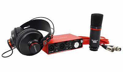 Focusrite SCARLETT STUDIO 2i2 2nd G 192kHz USB 2.0 Audio Interface+Mic+Headphone