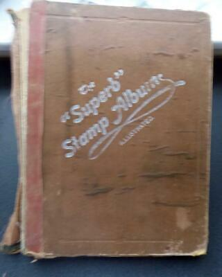 Collection A-Z in an Old & Battered Superb Stamp Album   No Reserve!