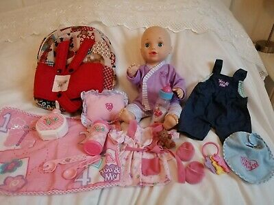 You And Me Interactive Baby Doll Bundle Clothes And Accessories