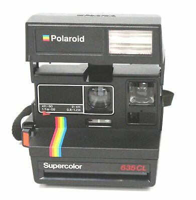 POLAROID SuperColor 635CL Instant Film Camera  - M35