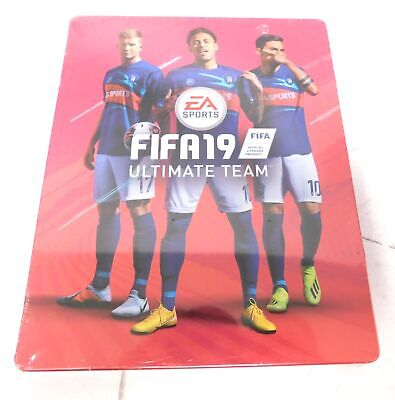 FIFA 19 Steelbook Edition For PS4 / Xbox One / Switch SEALED  - T08
