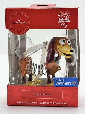 2019 Hallmark Toy Story 4 Christmas Tree Ornament: Slinky Dog - Exclusive & NEW!