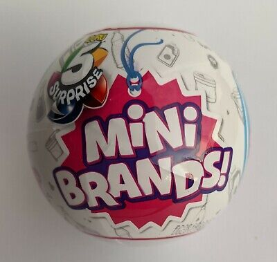 Zuru 5 Surprise Mini Brands Collection Sealed Mystery Blind Capsule Ball NEW!