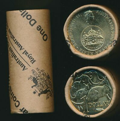 Australia 2016 $1 Changeover of Decimal Currency Royal Australian Mint Roll