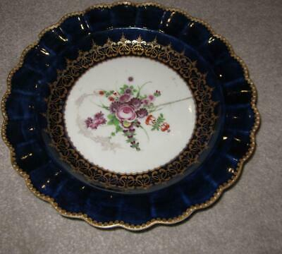 18th Century Dr Wall Period WORCESTER English Porcelain Plate