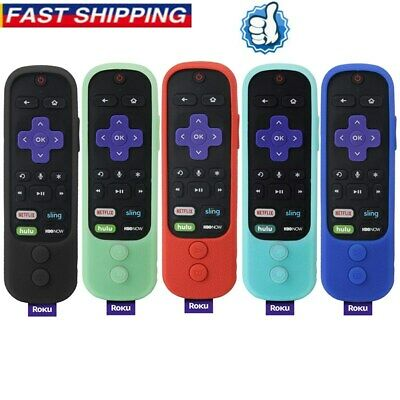 Replacement Remote Control Cover for Roku 1 2 3 4 Express Premiere Ultra w 4 APP