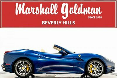 2012 Ferrari California -- 2012 Ferrari California  2D Convertible 4.3L V8 DI DOHC Manual