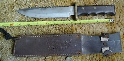 Vintage Fixed Blade Knife Very Solid As Pictures Nice Collectable
