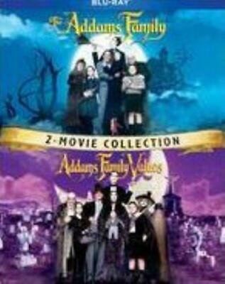 ADDAMS FAMILY / ADDAMS FAMILY VALUES 2 MOVIE (Region A BluRay,US Import,sealed.)