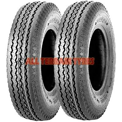 500KG 4x 5.00-10 8Ply 84M New High Speed Trailer tyres x4 500 10 5.00x10