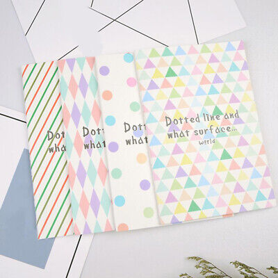 Simple Geometric Pattern Softcover Notepad Notebook Diary Stationery CB