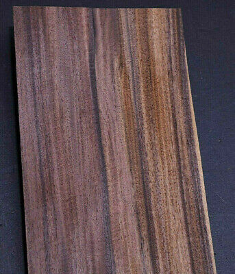 Ebony Raw Wood Veneer Sheets 5 x 35 inches 1//42nd thick              G8627-20